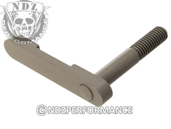 NDZ Gun Kote FDE Magazine Catch for AR-15, SW 15-22