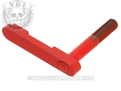 NDZ Cerakote USMC Red Magazine Catch for AR-15, SW 15-22