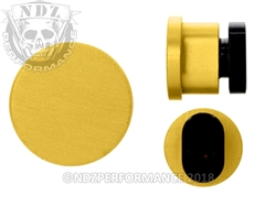 NDZ Gold Magazine Release Button for AR-10, AR-15, SW 15-22  (*LZ)