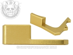 NDZ Gold Charging Handle Tactical Latch for AR-15 (*LZ)