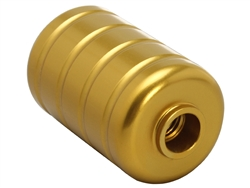 NDZ Bolt Knob for Bolt Action Rifles 5/16 x 24 Keg True Gold