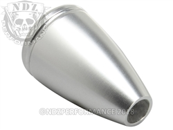 NDZ Bolt Knob for Bolt Action Rifles 5/16 x 24 Tear Drop Silver