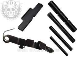 NDZ Black ESLL, Pin and Ghost Bullet for Glock Gen 1-4