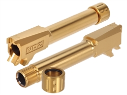 NDZ Performance Sig Sauer P365 Threaded Barrel 9MM Gold TiN - Titanium Nitride