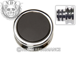 NDZ Custom Chrome Accessory Power Outlet Plug Black (*LZ)