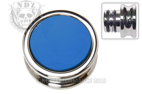 NDZ Custom Chrome Accessory Power Outlet Plug Blue (*LZ)