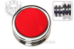 NDZ Custom Chrome Accessory Power Outlet Plug Red (*LZ)