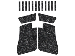 glock 43 grips black tactical decal grip glock 43