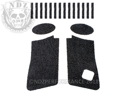 NDZ Black Tactical Decal Grip for Glock 19 Gen 4-5