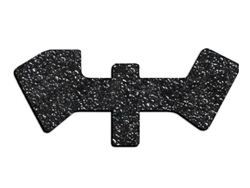 NDZ Black Tactical Decal Grip for UpLULA
