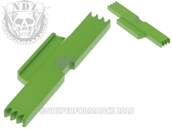 NDZ Zombie Green Extended Slide Lock Lever for Glock Gen 1-5