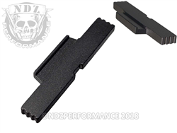 NDZ Black Extended Slide Lock Lever for S&W SD9 SD40 VE