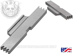 NDZ Stainless Extended Slide Lock Lever for S&W SD9 SD40 VE