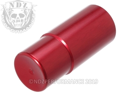 NDZ Marlin 1895 magazine tube follower aluminum in red