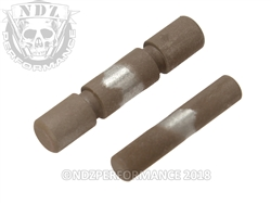 NDZ Stainless Steel 2 Pin Kit for Glock 42 43 43X 48 Cerakote FDE