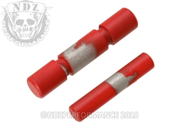 NDZ Stainless Steel 2 Pin Kit for Glock 42 43 43X 48 Cerakote USMC Red