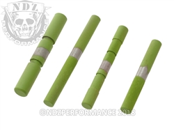 NDZ Stainless Steel 4 Pin Kit for Glock Gen 1-3 Cerakote Zombie Green