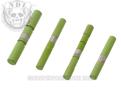 NDZ Stainless Steel 4 Pin Kit for Glock Gen 4 Cerakote Zombie Green