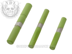 NDZ Stainless Steel 3 Pin Kit for Glock Gen 5 Cerakote Zombie Green
