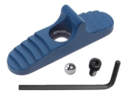 Mossberg 500 590 835 930 935 Safety Shockwave with Ball Detent Cerakote Ridgeway Blue
