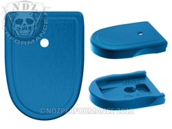 NDZ Blue Magazine Plate for Smith & Wesson M&P Compact 9MM .40 (*LZ)