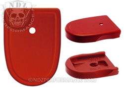 NDZ Red Magazine Plate for Smith & Wesson M&P Compact 9MM .40 (*LZ)
