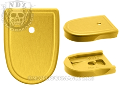 NDZ Gold Magazine Plate for Smith & Wesson M&P - M&P 2.0 Compact 9MM .40 (*LZ)