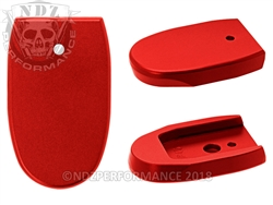 NDZ Red Magazine Plate for Smith & Wesson M&P .45 Full-size