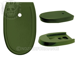 NDZ Green Magazine Plate for Smith & Wesson M&P Full-Size 9MM .40 (*LZ)