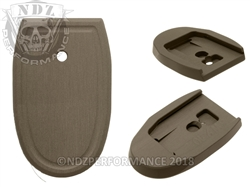 NDZ HC FDE Magazine Plate for Smith & Wesson M&P Full-Size 9MM .40 (*LZ)