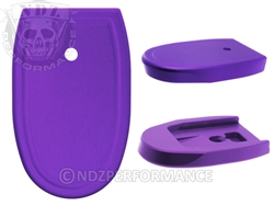 NDZ Purple Magazine Plate for Smith & Wesson M&P Full-Size 9MM .40 (*LZ)