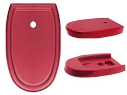 NDZ Red Magazine Plate for Smith & Wesson M&P Full-Size 9MM .40 (*LZ)