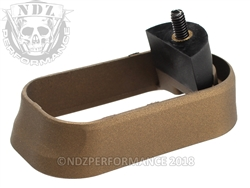 NDZ Magazine Well for Glock Gen 1-3 Cerakote Burnt Bronze
