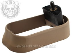 NDZ Magazine Well for Glock Gen 1-3 Cerakote Flat Dark Earth