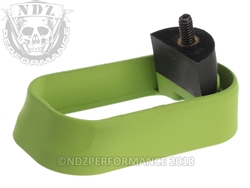 NDZ Magazine Well for Glock Gen 1-3 Cerakote Zombie Green