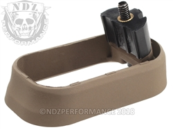 NDZ Magazine Well for Glock Gen 4 Cerakote Flat Dark Earth - FDE