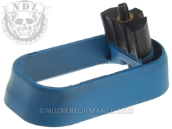 NDZ Magazine Well for Glock Gen 4 Cerakote Ridgeway Blue