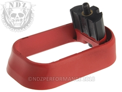 NDZ Magazine Well for Glock Gen 4 Cerakote USMC Red