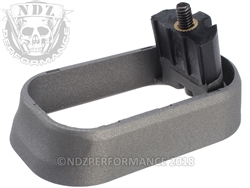 NDZ Magazine Well for Glock Gen 4 Cerakote Tungsten
