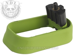 NDZ Magazine Well for Glock Gen 4 Cerakote Zombie Green