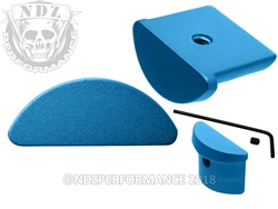 NDZ Blue Grip Plug for Glock 43 (*LZ)
