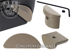 NDZ Gun Kote FDE Grip Plug for Glock 43
