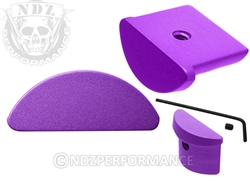 NDZ Purple Grip Plug for Glock 43 (*LZ)