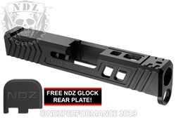 NDZ43 TROI Slide Upgrade For Glock 43 43X In Armorer Black Cerakote
