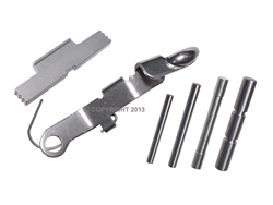 NDZ Stainless ESLL, Pin and Ghost Bullet for Glock Gen 1-4