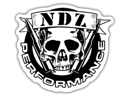 NDZ Performance Skull Sticker
