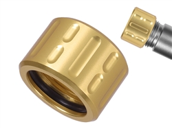 NDZ Alum Thread Protector V1 .578x28 with O-Ring GLD