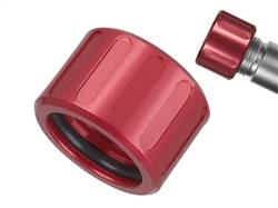 NDZ Alum Thread Prot V2 .578x28 with O-Ring Red