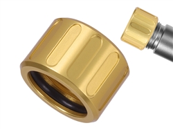 NDZ Alum Thread Protector V2 .578x28 with O-Ring GLD