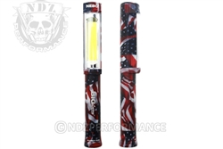 Nebo Big Larry Red White Blue COB LED Flashlight